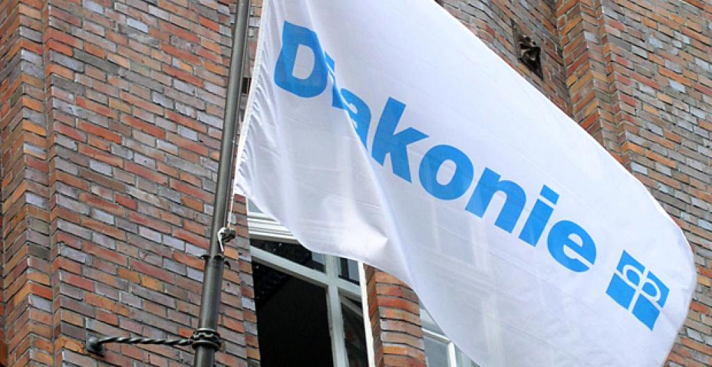 Flagge Diakonie
